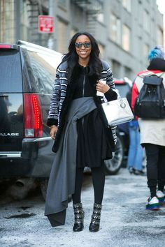 Shiona Turini is all about layers at New York Fashion Week, Fall 2015