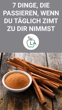 Zimt – Wirkung beim Abnehmen und auf die Gesundheit Improve health with cinnamon and quickly reduce annoying body fat? In this article we will show you what effect cinnamon has when losing weight and why it is so healthy. Healthy Balanced Diet, Healthy Diet Tips, Healthy Food To Lose Weight, Healthy Eating, Nutrition Plate, Health Diet, Health And Nutrition, Stomach Fat Burning Foods, Fat Burning Detox Drinks