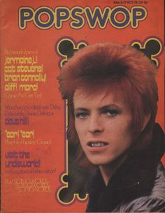 david bowie on magazine cover 1973 brian connolly of the sweet jermaine jackson