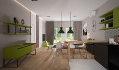 Casinha colorida: Uma casa moderna e com escolhas inteligentes