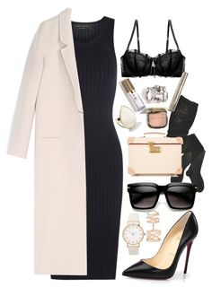 """Без названия #70"" by kirushina-lida ❤ liked on Polyvore featuring Christian Louboutin, Repossi, rag & bone, HYD, Acne Studios, Heidi Klum Intimates, Ippolita and Globe-Trotter"