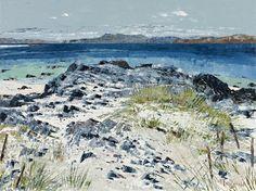 Frances Macdonald, Sea Fences, Iona. Passing Islands - The Scottish Gallery, Edinburgh - Contemporary Art Since 1842