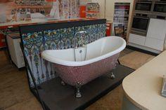 County Herts Fair. Mosaic Bathtub.