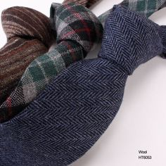 Pure color twill wool neckties HT6053 Wool Tie, Neckties, Leg Warmers, Men Casual, Pure Products, Collection, Color, Fashion, Leg Warmers Outfit
