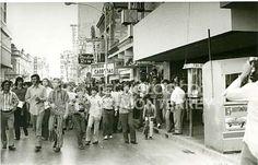 Celebrando campeonato Nacional de futbol americano 1972 Borregos del Tecnologico de Mty.
