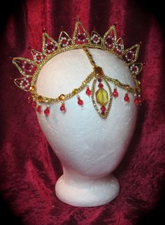 La Bayadere Ballet Headpiece by PointeCreations on Etsy