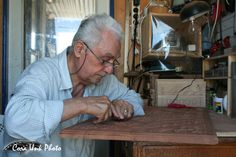 Skyros, Greece, woodcarving
