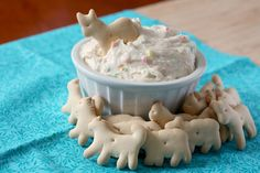 Funfetti dip -  this is awesome!! Use low fat yogurt and cool whip for a guiltless delight.