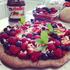 The Laidlaws:  RECIPE: Summer Berry Pizza