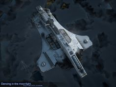 KYRIE light cruiser at patrol by ~ACXtreme on deviantART ~ #spacecraft #scifi #sciencefiction