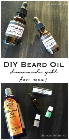 Make DIY Beard Oil w