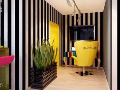 Интерьер кабинета - Дизайн интерьера квартиры в стиле Поп-арт Энди Уорхола