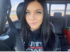 Dark Hair Blue Eyes, Blue Hair