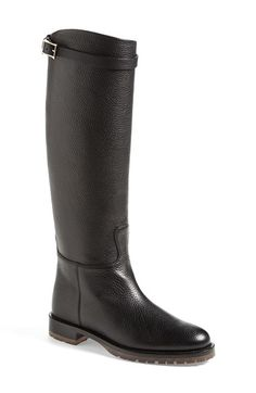 Love the timeless style of this tall boot. Should be easy to duplicate at a lower price point.  Valentino 'Chevalier' Tall Boot (Women) available at #Nordstrom