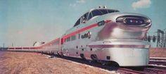 Union Pacific City of Las Vegas Aerotrain, December 1956-September 1957