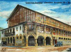 """""""Guernica"""" frontoia.  Frontón """"Guernica"""". #Gernika"""
