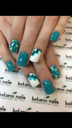 Spring nail art idea!