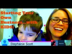 Starting your own business with kids! The MomCave moms talk to the owner of Kickety Split children's clothing. MomCaveTV.com
