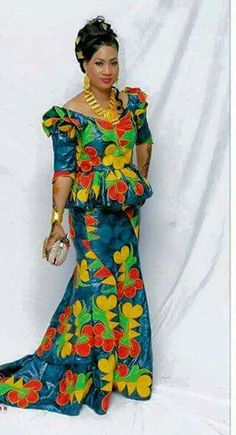 African Fashion - Magazine cover
