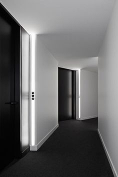 Here we showcase a a collection of perfectly minimal interior design examples for you to use as inspiration. Check out the previous post in the series: 30 Corridor Lighting, Interior Lighting, Lighting Design, Strip Lighting, Hall Lighting, Linear Lighting, Custom Lighting, Interior Doors, Lighting Ideas