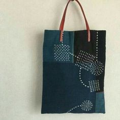 Linen heart tote bag with appliqué, Sashiko Hand embroidered tote, Valentine tote bag, mother's day Embroidery Bags, Japanese Embroidery, Shashiko Embroidery, Boro Stitching, Art Bag, Linen Bag, Denim Bag, Fabric Bags, Quilted Bag