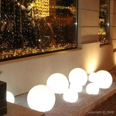 Globo Out 70 - Outdoor Lighting Spheres