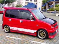 Show Me Modified Agila's/Suzuki Wagon R's Suzuki Wagon R, Kei Car, Microcar, City Car, Small Cars, Custom Cars, Cars And Motorcycles, Retro, Vehicles