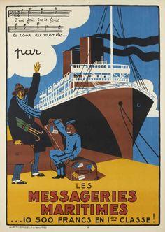 Les Messageries Maritimes - J'ai fait trois fois le tour du monde par...