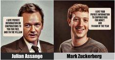 Assange vs. Zuckerberg