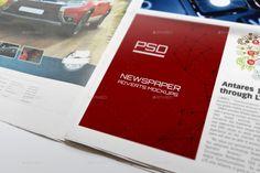 25+ Newspaper Ad Mockup PSD Design Template for Branding