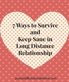 """Are you in LDR aka Long Distance Relationship?  Clink the link in the comments to read the """"7 Ways to Survive and Keep Sane in Long Distance Relationship"""""""