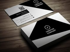 I just released Creative Dark Business Card on Creative Market.