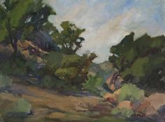 "James Wisnowski ""Stoney Point Path"" Oil Painting"