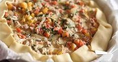 La tarte au thon et au poivron : délicieuse et facile à réaliser - La Recette