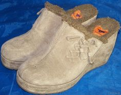 Women Shoes ROCKET DOG MULES Size 10M  Brown Suede NEW
