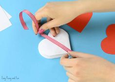 Want to make a cool and pretty unique card for Mother's day? Or for any other lovely occasion really? Have the kids makethis adorable DIY heart notebook and let them fill the heart shaped pages with their drawings or have them write fun messages. This is a wonderful keepsake that will be cherished for years …