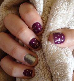 Icy Boysenberry Polka. www.jamberrybytiffany.jamberrynails.net