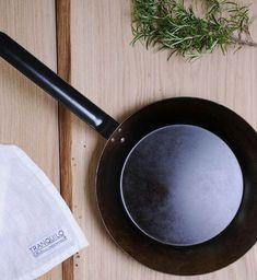 Fantastiske stekepanner fra svenske Tranquilo Kitchen Iron Pan, Cast Iron, Kitchens, Kitchen, Cuisine, Cucina
