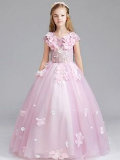 50 Best Prom Dresses for 10 to 14 Years Old Girls - Plus Size Women Fashion Cute Little Girl Dresses, Cute Prom Dresses, Girls Formal Dresses, Girls Party Dress, Flower Girl Dresses, Bella Wedding Dress, Princess Dress Kids, Designer Evening Dresses, Fairy Dress