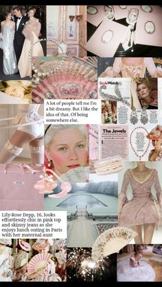 Listen To The Bible, Aesthetic Revolution, Sofia Coppola, Lily Rose Depp, Photo Wall Collage, My Vibe, Marie Antoinette, Sweet Girls, Pink Tops