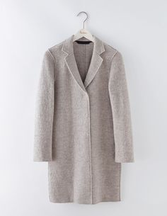 If you're hankering after a head-turning moment, we've got just what you need. Meet Sally. Made from luxurious wool with raw edges and available in a selection of must-have colours, this is THE coat of the season.