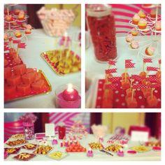 Candy buffet Inauguración Estética Olaia en Vitoria-Gasteiz