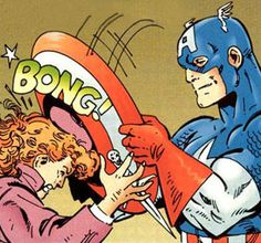 """Captain America is my least favorite Aveng..."""