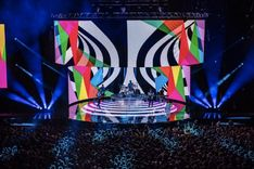 Rental LED Stage Screen deliver something unequaled, unique and fresh to any stage show; these are different from traditional staging drapery. Screen Design, Wall Design, Arena Stage, Concert Stage Design, Arena Rock, Stage Show, Rock Concert, Light Art, Staging