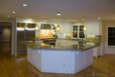 #Kitchen of the Day: Classic White Kitchens.