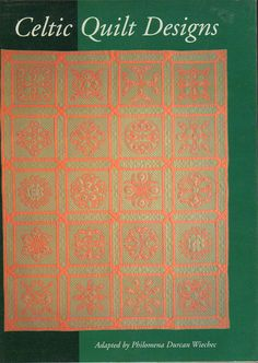 Celtic Quilt Designs by Philomena Durcan Wiechec by VintageAdLady, $12.95