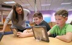 Elementary Students Participate in the Global Read Aloud Program Shawnee Mission, School District, Read Aloud, Programming, Students, Education, Reading, News, Board