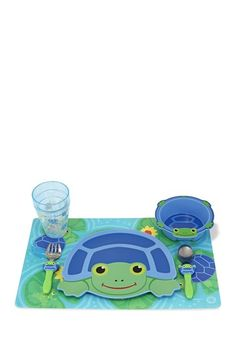 Scootin Turtle Mealtime Set on HauteLook