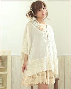 Mori girl fashion.