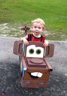 Tow Mater the Tow Truck - 2013 Halloween Costume Contest via @costumeworks